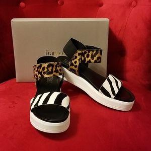 "Franco Sarto Shoes - ""FRANCO SARTO"" KANA 2, MULTI LE. SANDALS S 9.5 NWB"